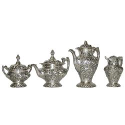 Steiff Sterling Coffee & Tea Service Set #2381688