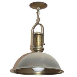Vintage Brass Ceiling Lamp Fixture #2381699