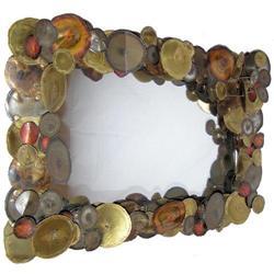 Curtis Jere Attr. Mid-Century Modern Mirror #2381708