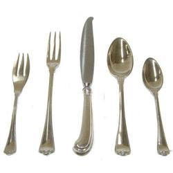 45pc Buccellati San Marco Sterling Flatware Set#2381714