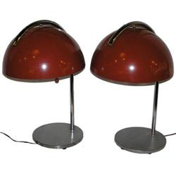 (2) Mid-Century Lamps After Russel Wright #2381718