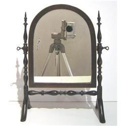 Antique Boudoir Tabletop Shaving Mirror  #2381744