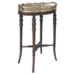 Antique Tea Serving Table Stand & Tray #2381745