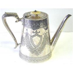 Mappin Bros Silverplate Coffee Pot #2381750