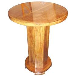 French Art Deco Mahogany Side Table #2381758