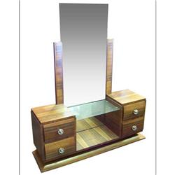 French Art Deco Vanity & Dressing Mirror #2381760