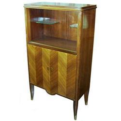 Haentges French Art Deco Liquor Cabinet #2381762