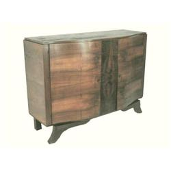 c1925 Antique French Art Deco Walnut Sideboard #2381770