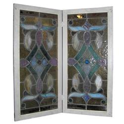 Art & Crafts Stained Glass Window Panels #2381794