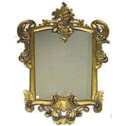 Rococo Giltwood & Composition Mirror #2381796