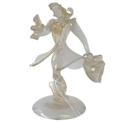 Vintage Seguso Cavalier Glass Figurine #2381818