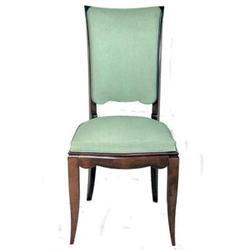 Set of 8 French Art Deco Highback Dining Chairs#2381833
