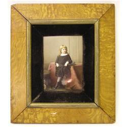 Franz Till KPM Plaque with Boy's Portrait #2381843
