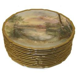 Set 12 Royal Doulton Shakespeare Plates #2381864