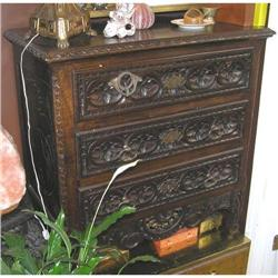 Baroque Revival Flemish Chest of Drawers #2381876