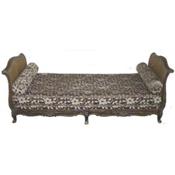 Antique Louis XVI Chaise Lounge Day Bed / Sofa #2381878