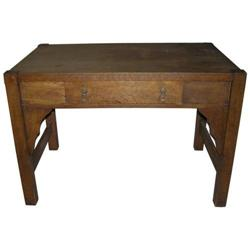 Arts & Crafts Mission Library Table / Desk #2381882