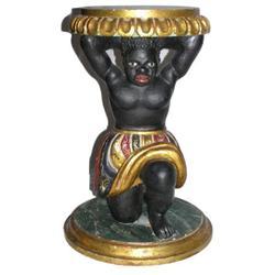 Venetian Parcel-Gilt Blackamoor Table #2381885