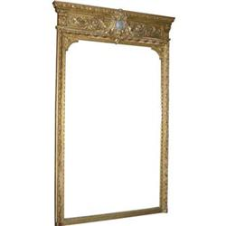 English Neoclassical Giltwood Pier Mirror #2381911