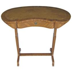 Antique Kidney Shaped Ladies Writing Table #2381913