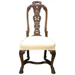 Set 4 Portuguese Queen Anne Style Chairs #2381921
