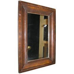 """Antique Mahogany Wall Mirror 30"""" x 21"""" #2381936"""