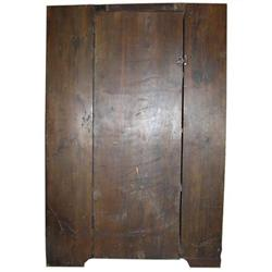 Antique Rustic Country Cabinet Cupboard #2381937