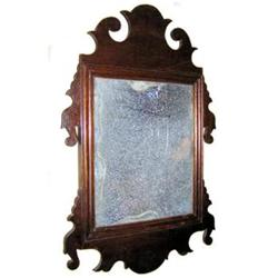 Small 19th Century Looking Glass Mirror #2381943