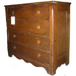 Antique Pine Dresser Chest of Drawers #2381974