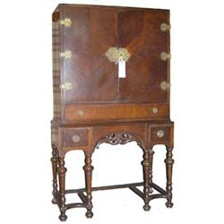 Chinese Chippendale Style Cabinet on Stand #2381982