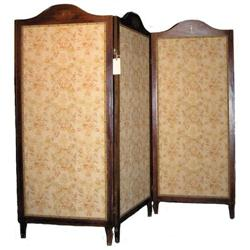 Fruitwood Folding Screen Room Divider #2381994