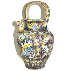 CELLINI Earthenware Majolica Pitcher / Jug #2382010