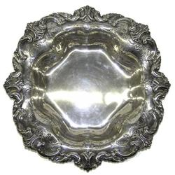 Shreve & Co Sterling Centerpiece Platter #2382020