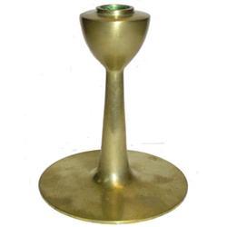 ROBERT JARVIE Lambda Brass Candlestick #2382031