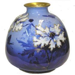 Ernst Wahliss Bohemian Porcelain Vase #2382033