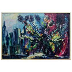 EMERIC Still Life & Manhattan Cityscape #2382055