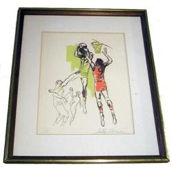 REBOUND Leroy Neiman '72 Artist Proof Etching  #2382063