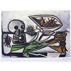 Picasso Nature Morte, Crane, Oursins et Oignon #2382065