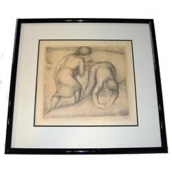 1926 Maillol ' Les Glaneuses ' Lithograph #2382068