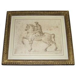Roman Marcus Aurelius Italian School Painting #2382077