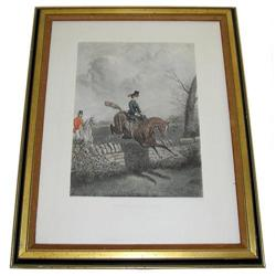 Sporting Scene Engraving After John Sturgess #2382079