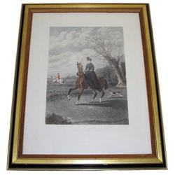 Sporting Scene Engraving After John Sturgess #2382080