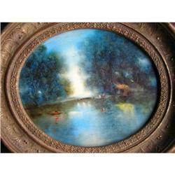 SIDERIS Attr French Impressionist Landscape #2382083