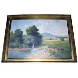 Gyula ZORKOCZY Hungarian Landscape Painting #2382100