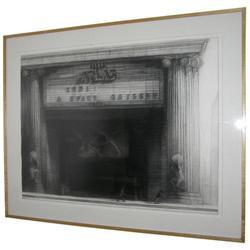RICHARD BUNKALL Atlas Theater Drawing #2382109