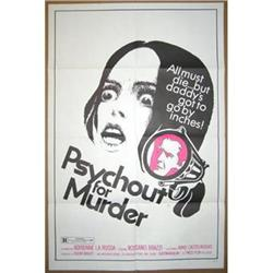 '71 PSYCHOUT FOR MURDER 1 Sheet Poster #2382136