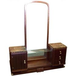 French Art Deco Vanity & Dressing Mirror #2382138