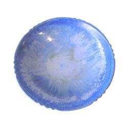 Vintage Fulper Blue Ceramic Charger Plate #2382149