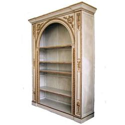 Neoclassical Italian 18th c Style Bookcase #2382155