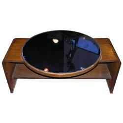 Art Deco Cobalt Blue Coffee Cocktail Table #2382170